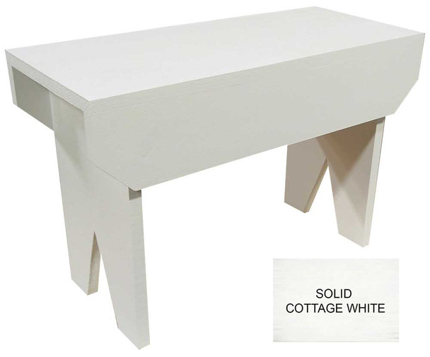 Shown in Solid Cottage White