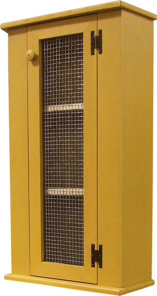 Shown in Old Mustard with a Screen door