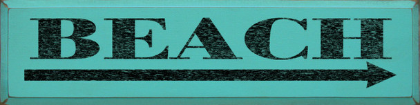 Shown in Old Aqua with Black lettering