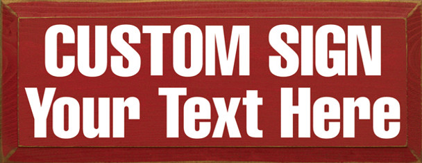 Custom Wooden Signs for Home Decor | Sawdust City Wooden Signs