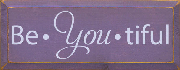 Shown in Old Purple with Lavender lettering