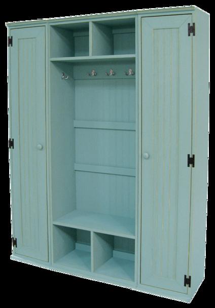 CUSTOM - Extra-Wide Locker   Custom Pine Locker   Sawdust City Custom Furniture