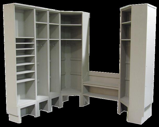 CUSTOM - Entryway Setup for Two Corners | Custom Pine Furniture|Sawdust City Custom Furniture