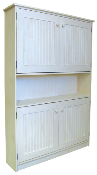 CUSTOM - 4 ft. Hutch with Doors