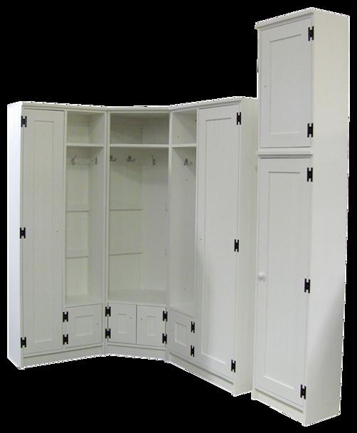 CUSTOM - Locker & Cabinet Combo | Custom Pine Cabinet Locker | Sawdust City Custom Furniture