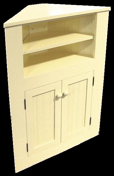 CUSTOM - Small Corner Cabinet | Custom Pine Cabinet | Sawdust City Custom Furniture