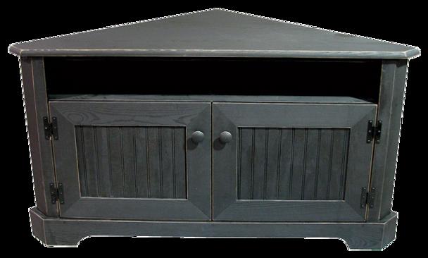 CUSTOM - Large Corner TV Stand | Custom Large Pine Livingroom Furniture | Sawdust City Custom Furniture
