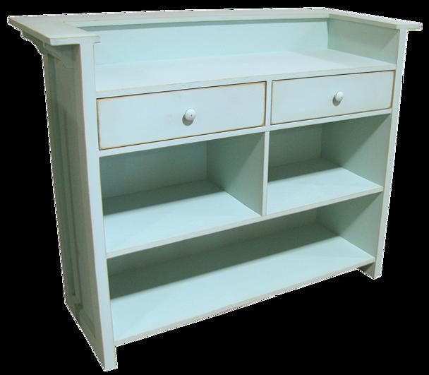 CUSTOM - Counter with Drawers   Custom Pine Counter  Sawdust City Custom Furniture