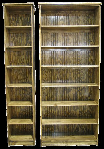 CUSTOM - Extra Tall Bookcases   Custom Tall Pine Bookcases   Sawdust City Custom Furniturev