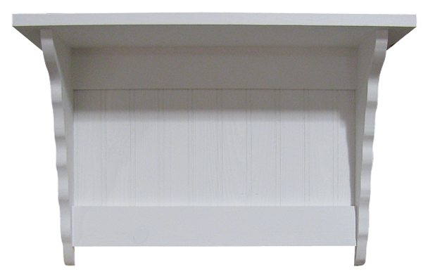 2 ft. Shown in Solid Cottage White