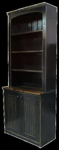 CUSTOM - Display Hutch with Beadboard Doors   Custom Pine Hutch   Sawdust City Custom Furniture
