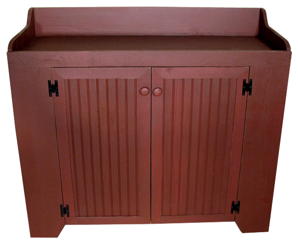 CUSTOM - Extra Large Dry Sink  | Custom Large Pine  Dry Sink | Sawdust City Custom Furniture
