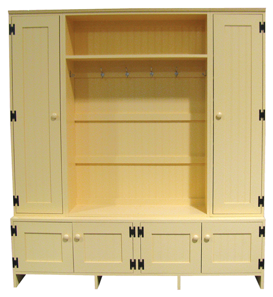 CUSTOM - Locker Setup   Custom Pine Lockers   Sawdust City Custom Furniture
