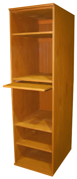 CUSTOM - Standing Workstation   Custom Pine Office Furniture  Sawdust City Custom Furniture