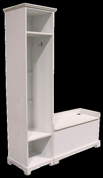 CUSTOM - Large Locker & Storage Bench   Custom Large Pine Storage Locker Bench   Sawdust City Custom Furniture