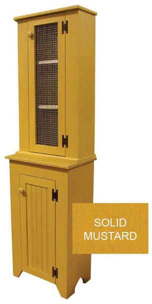 Jelly Cupboard & Hutch Set  | Pine Kitchen Furniture | Sawdust City Pine Furniture