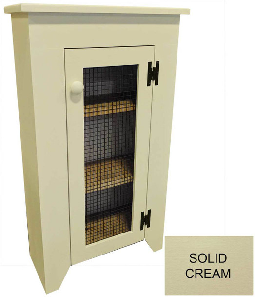 Shown with Screen Door in Solid Cream