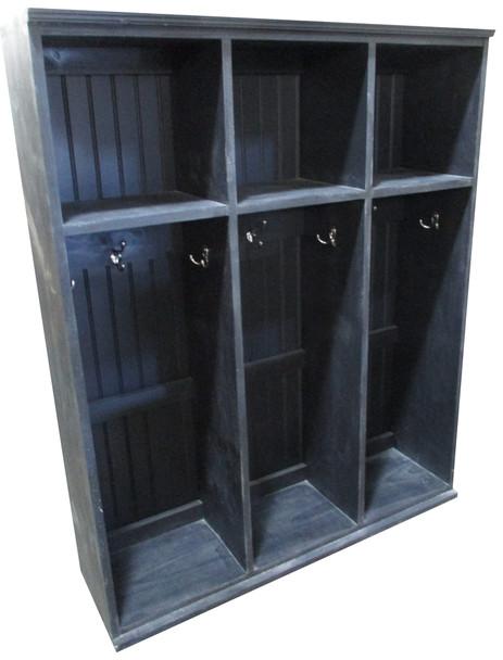 Short Locker Unit - Solid Black