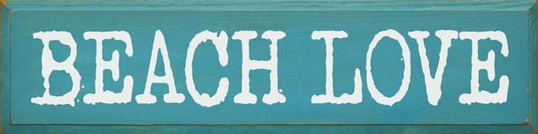 Beach Love | Sawdust City Wood Signs