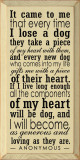 Popular Wooden Dog Sign | It Came To Me That Every Time I Lose A Dog | Sawdust City Sign in Old Cream & Black