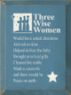 Three Wise Women..   Funny Wood Sign    Sawdust City Wood Signs
