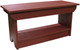Retail Coffee Table/Bench | Solid Pine Bench Retail | In Old Burgundy