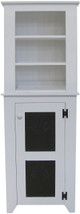Shown in Solid Cottage White on top of a coordinating #C702 Punched Tin Cupboard (sold separately)