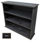 Small Hallway Bookcase | 3-Shelf Hall Bookcase  |  Sawdust City Bookshelf in Old Black