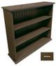 Small Hallway Bookcase | 3-Shelf Hall Bookcase  |  Sawdust City Bookshelf in Old Brown