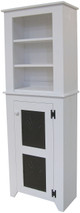 Shown in Solid Cottage White on with coordinating 2 ft. Top Hutch (sold separately)