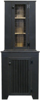 Hutch shown in Old Black with coordinating Cupboard (sold Separately)