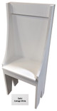 Small Primitive Chair - Shown in Solid Cottage White