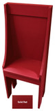 Small Primitive Chair - Shown in Solid Red