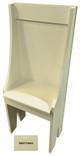 Small Primitive Chair - Shown in Solid Cream