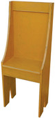 Small Primitive Chair - Shown in Old Gold