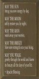 May The Sun Bring You..  | Inspirational Wood Sign| Sawdust City Wood Signs