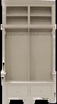 CUSTOM - Large Multi-Section Locker & Bench Combos | Custom Wood Furniture| Sawdust City Custom Furniture