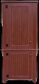 Shown in Old Burgundy with Beadboard doors