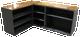CUSTOM - L-Shaped Desk   Custom Pine Desk   Sawdust City Custom Furniture