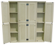 CUSTOM - Double Door Lockers   Custom Wooden Double Lockers   Sawdust City Custom Furniture