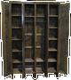 CUSTOM - Skinny Lockers with Vent Cutouts   Custom Pine Lockers   Sawdust City Custom Furniture