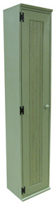 American Pine Broom Closet by Sawdust City - Shown in Old Sage