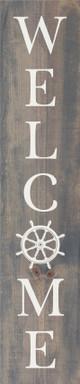 Custom Vertical Welcome Sign