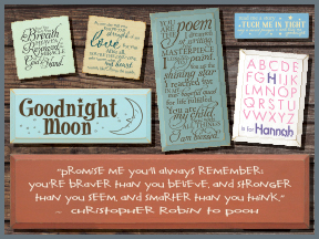 Children And Baby Wooden Signs With Sayings And Quotes
