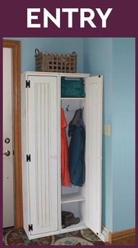Entryway Locker