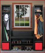 Mudroom Wall Storage