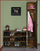 Mudroom Modular Storage