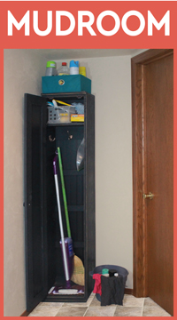 Mudroom Storage Locker