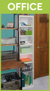 Storage Bookcase for Office