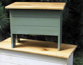 Solid Wood Pine Storage Benches